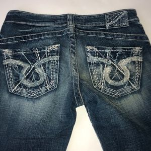 Big Star Sweet Bootcut Jeans Size 27 Ultra low